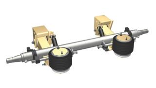 RAR-260 series air ride suspension