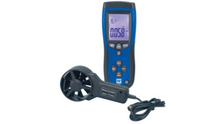 Thermo-Anemometer and IR Thermometer, No. TIF3220