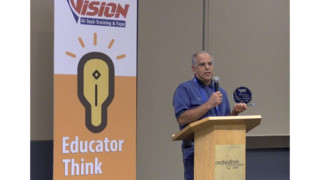 VISION HiTech Training & Expo honors top educator