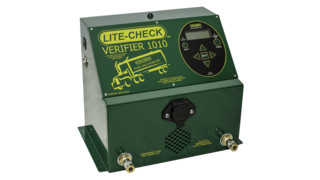Verifier trailer inspection system and tablet