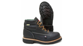 Patriot 6 Round Steel Toe Work Boots
