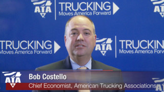 ATA Chief Economist Bob Costello discusses the driver shortage video