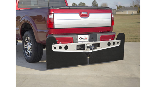 Rockstar Hitch Mounted Mud Flaps