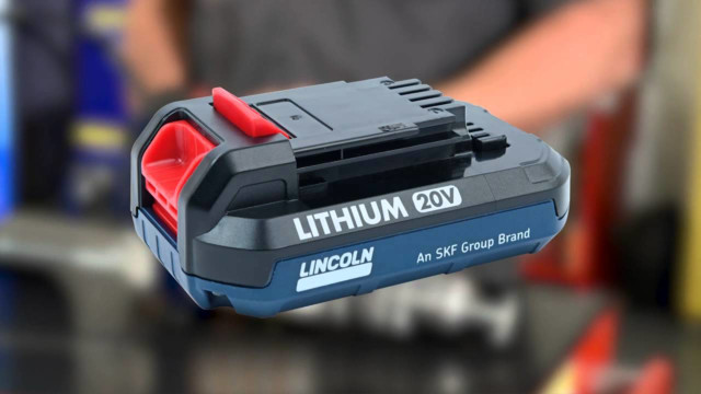 Lincoln 20V Li-Ion PowerLuber Video