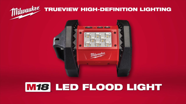 Milwaukee M18 LED Flood Light Video