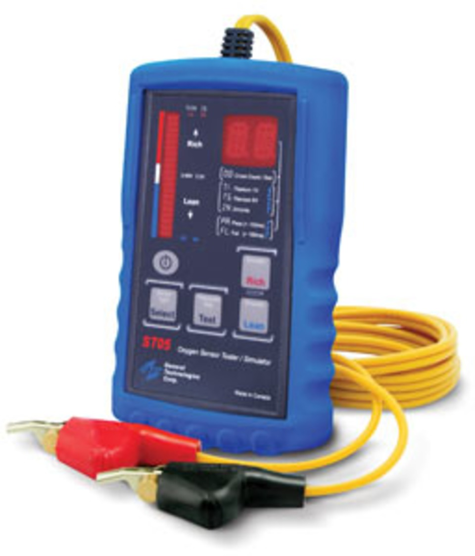 General Technologies St05 Oxygen Sensor Tester Simulator Product In Focus