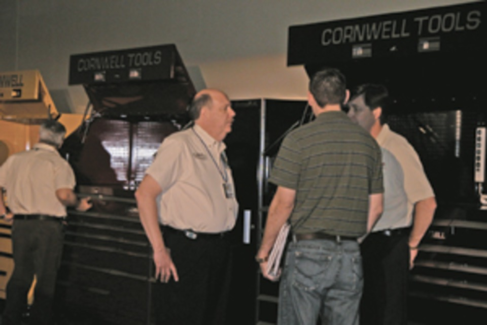 Cornwell Tools Revs Up In Dallas