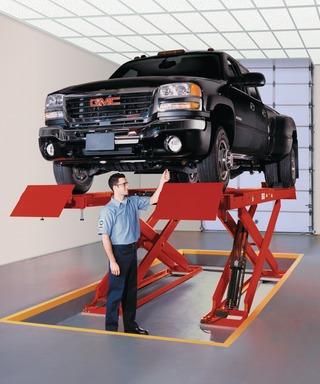 Hunter Alignment Rack >> Hunter Engineering Company RX10 Scissor Lift Rack in ...