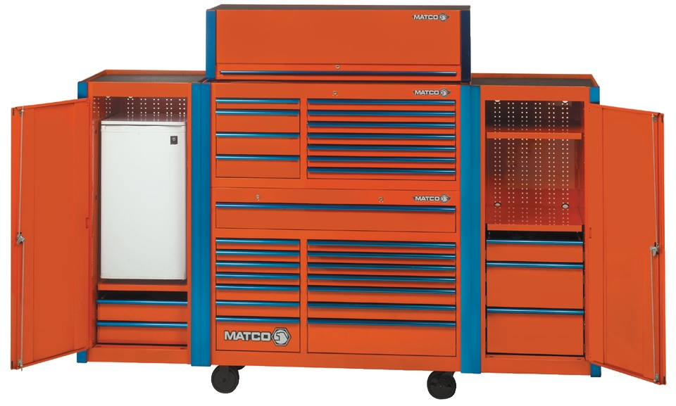 Matco Tools 5 S Series Wide Full Lockers In Toolboxes