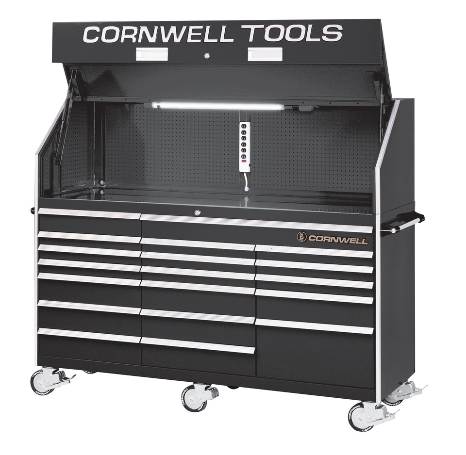 """Cornwell Tool Cart >> Cornwell Quality Tools 84"""" tool storage unit in Toolboxes"""
