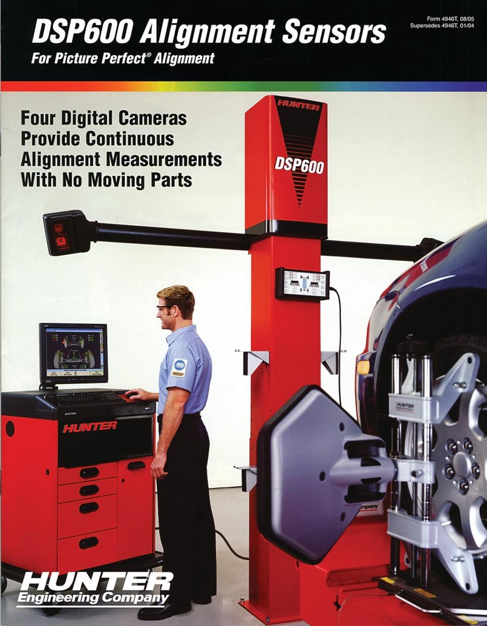 hunter engineering company dsp600 brochure in training catalogs rh vehicleservicepros com hunter dsp600 installation manual hunter dsp600 installation manual
