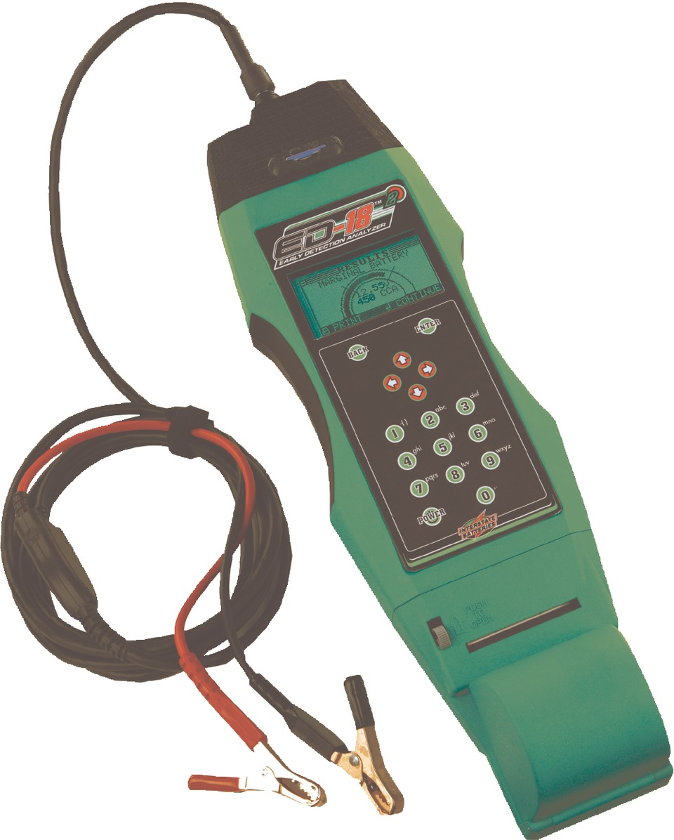 Interstate Battery System Ed 182 Electrical Testers Analyzer In Multimeters Clamp Meters