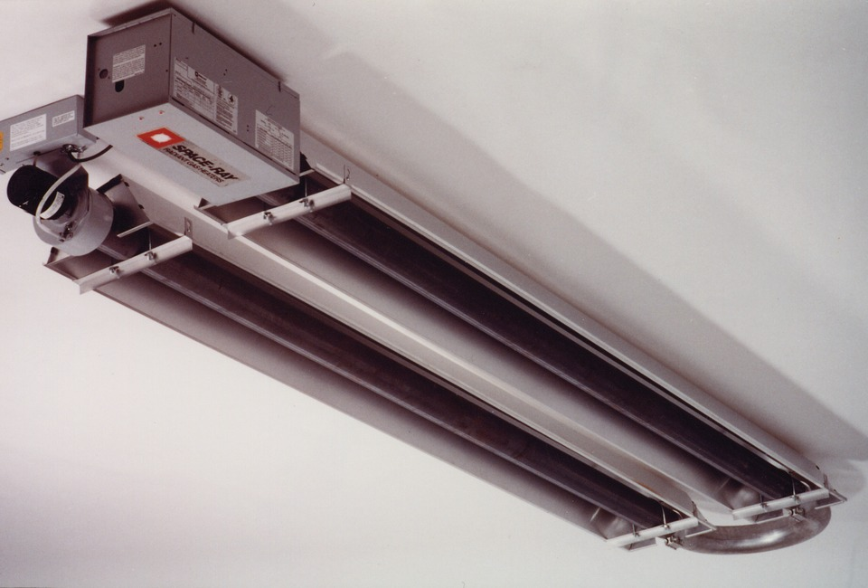 Space Ray Infrared Heaters Ets Etu Series Of Gas Fired