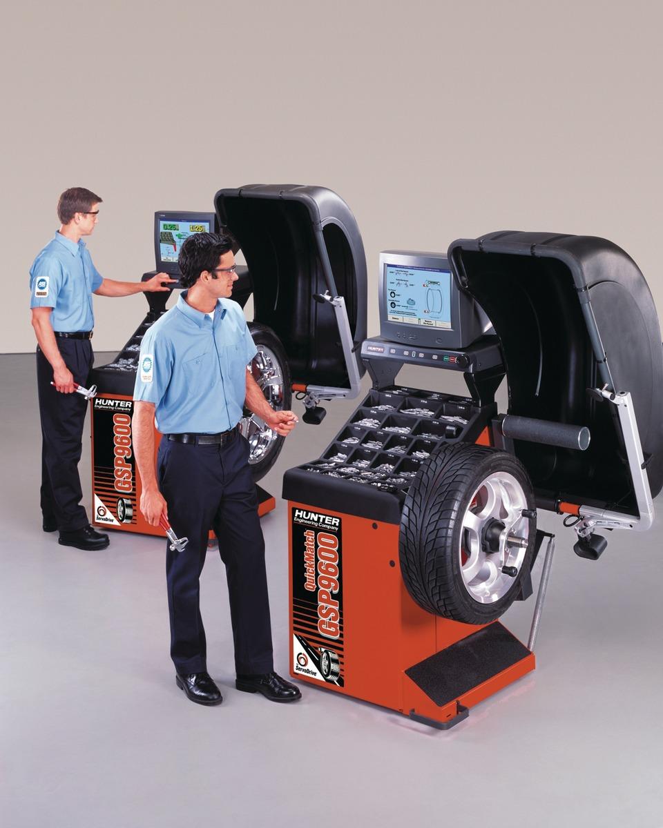 Hunter Engineering Company GSP9600 Series Wheel Balancers in Wheel Balancers