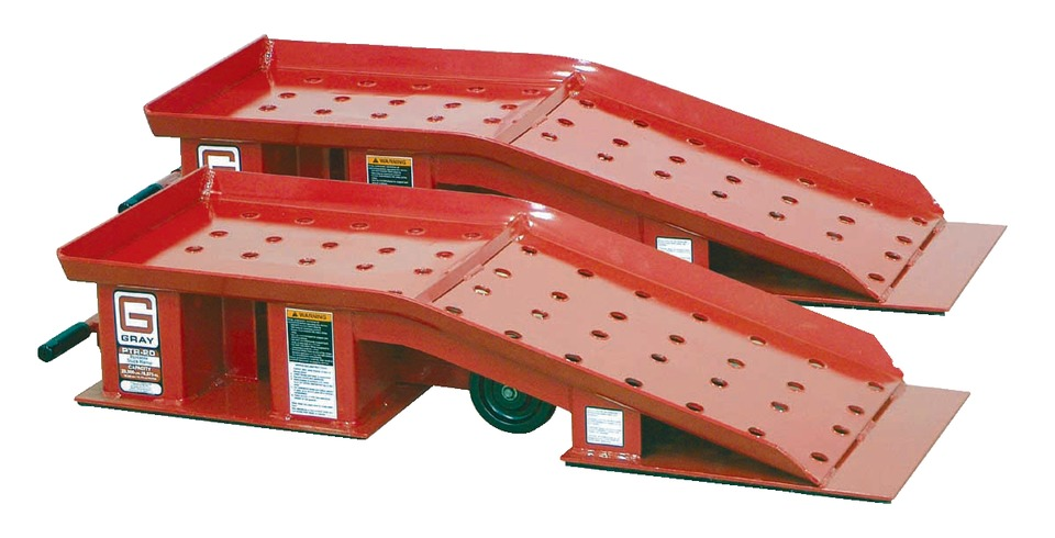 Gray Manufacturing Company, Inc. Portable Truck Ramps in Ramps