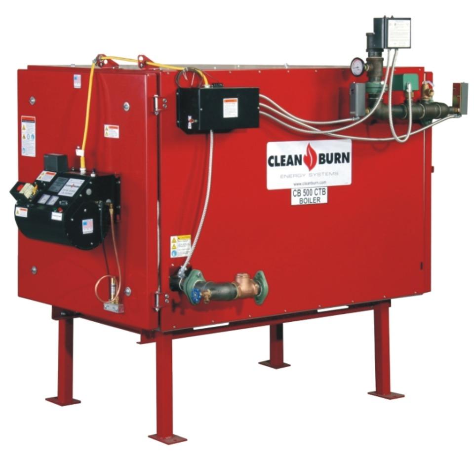 Coil Boiler Design ~ Clean burn cb ctb used oil coil tube boiler in shop