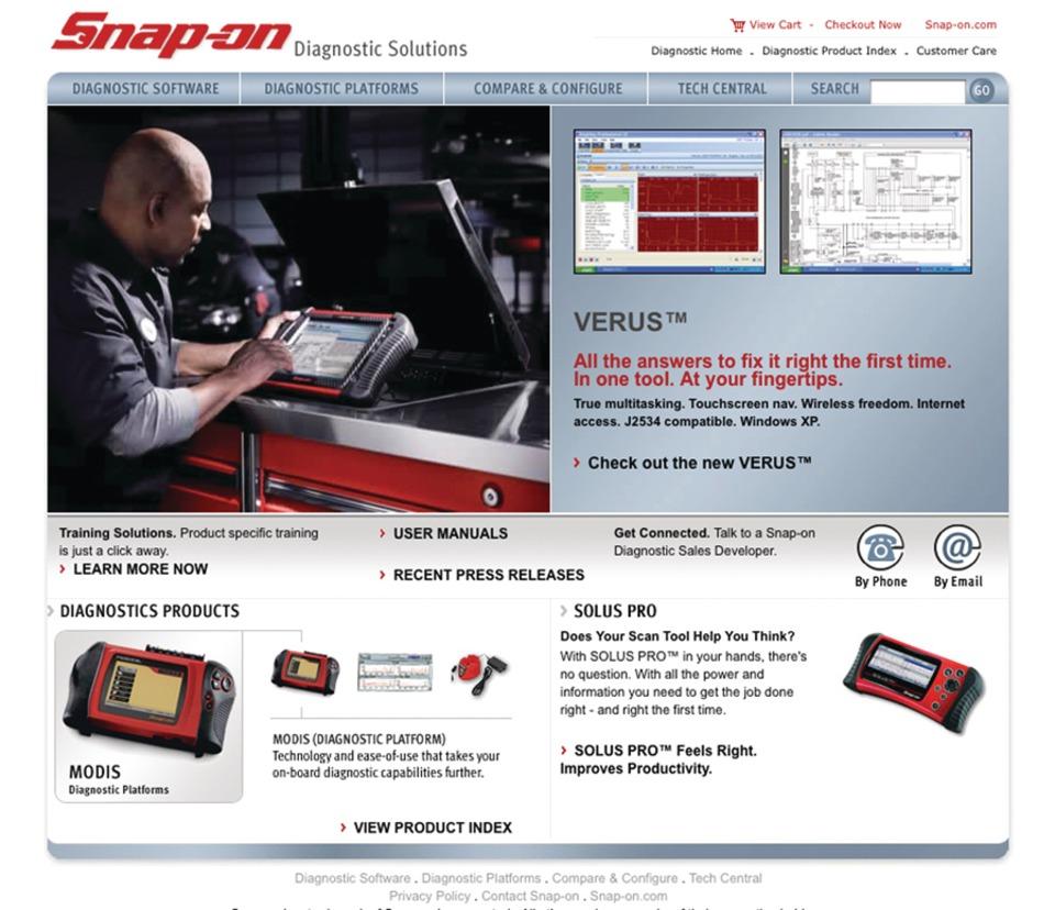 Snap On Diagnostics Online Product Training Video Program