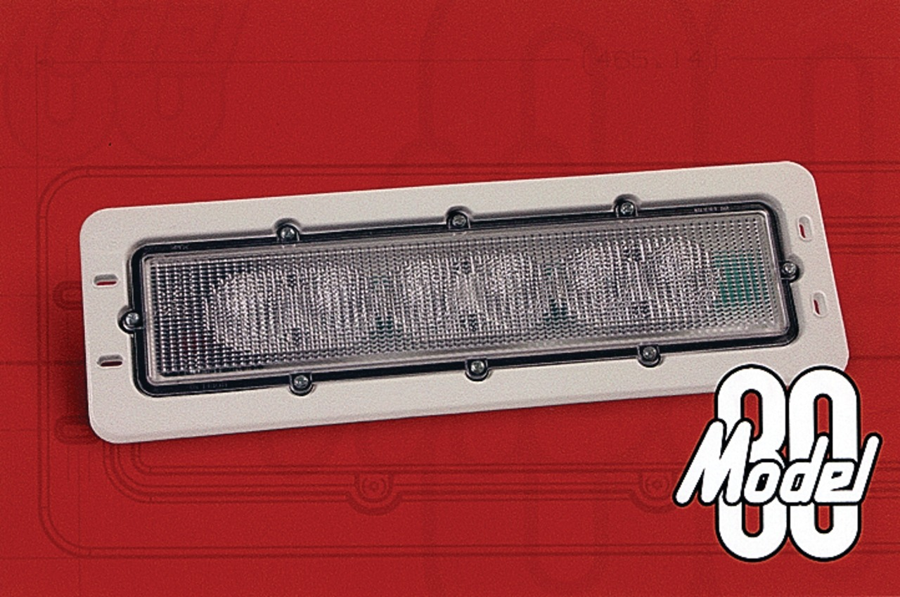Truck-Lite Co  Inc  Model 80 LED lamps in Cab & Body