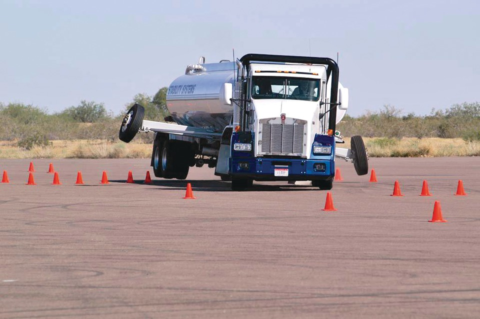 Kenworth Truck Company Bendix ABS-6 in Brakes