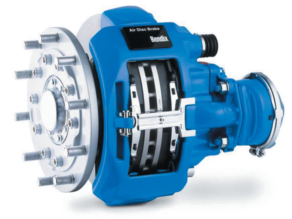 Bendix commercial vehicle systems air disc brakes