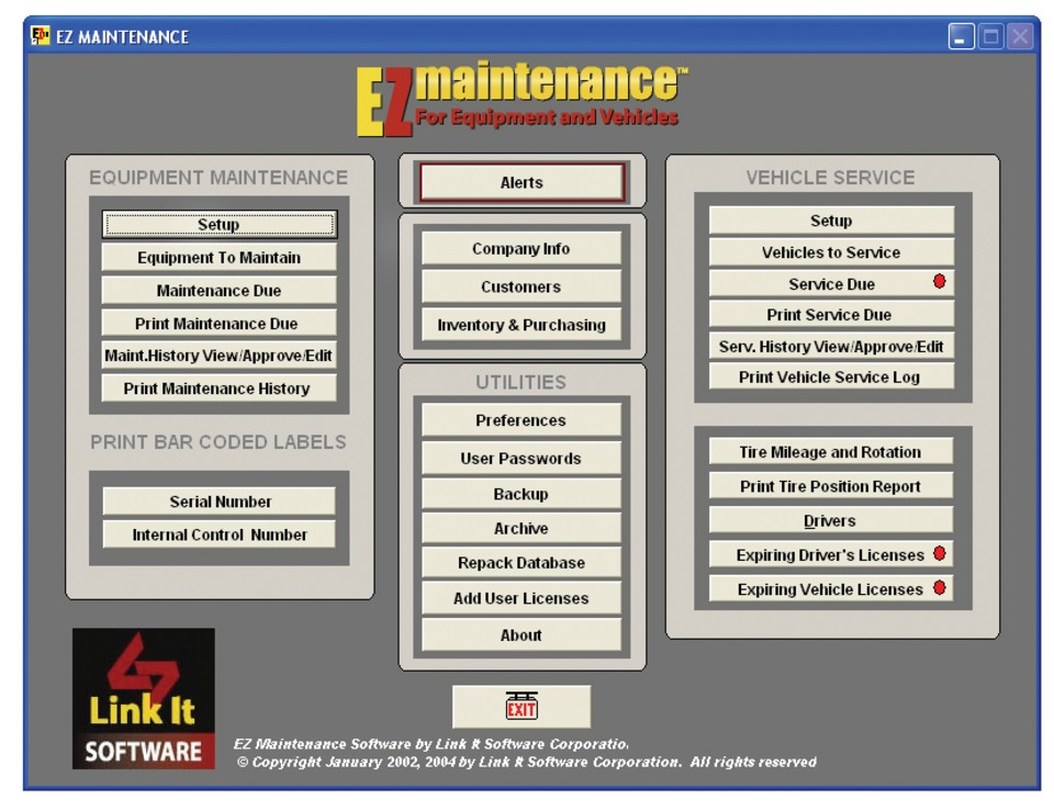 report of software maintence Australia's most trusted maintenance software mex cmms simplifies maintenance management practices & transforms your computer into a one-stop maintenance control centre.
