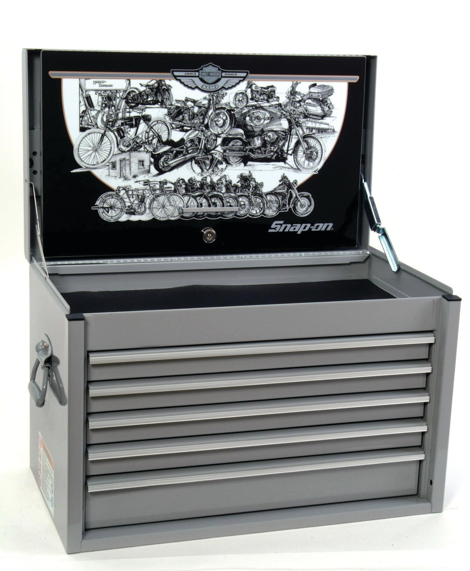 Snap On Inc Harley Davidson 100th Anniversary Tool Storage Chest In