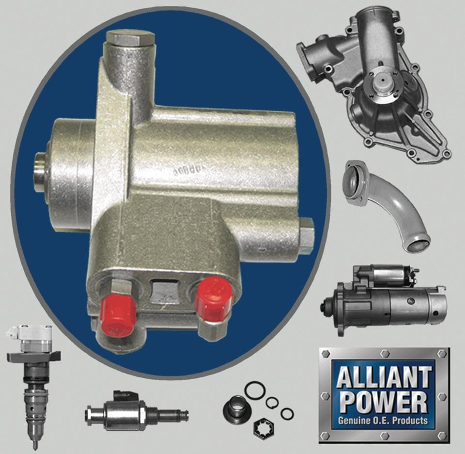 Alliant Power HEUI® fuel injectors for T444E / DT466E