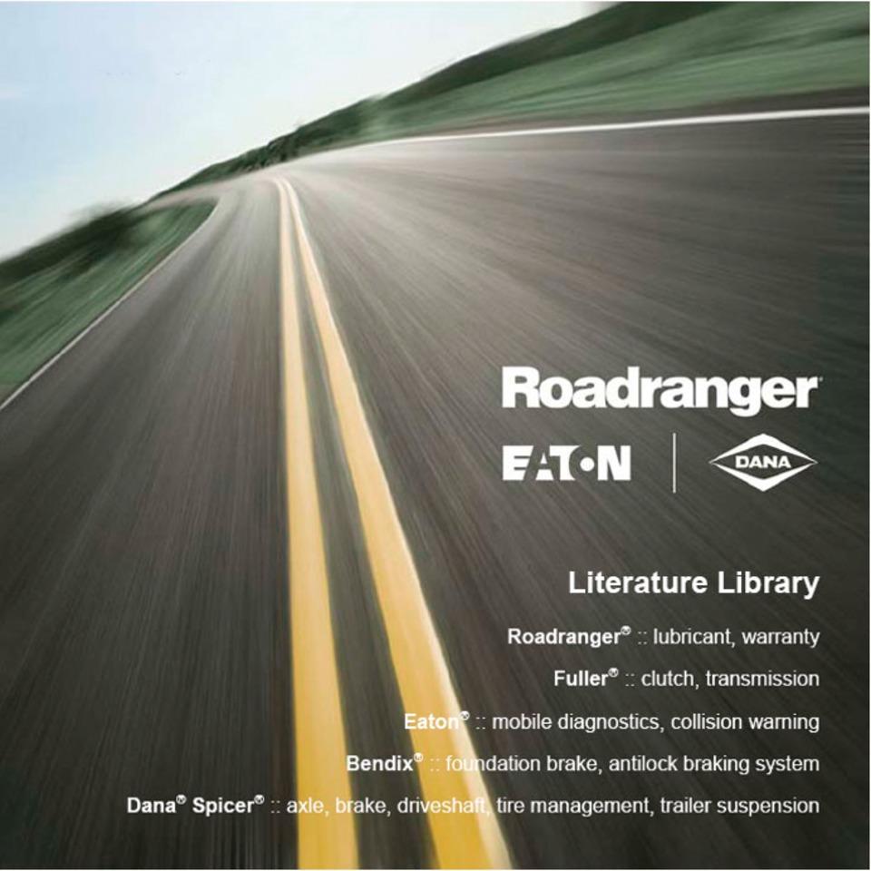 Eaton RoadrangerR Literature Library CD in Training & Resources