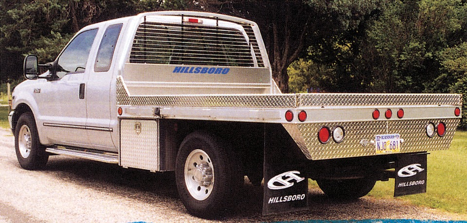 Hillsboro Industries Series 2000 Aluminum Light Truck Beds