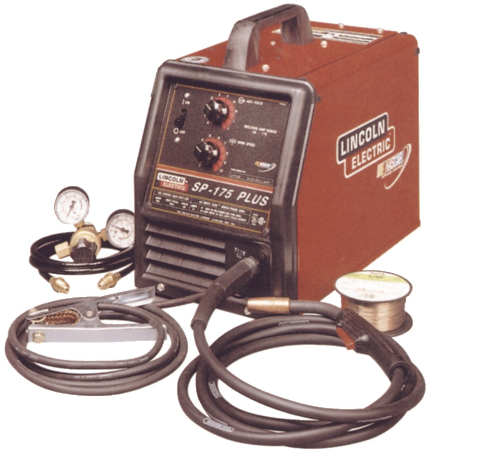 175 Lincoln Mig Welder: Lincoln Electric SP-175T ' SP-175 Plus In Shop Equipment