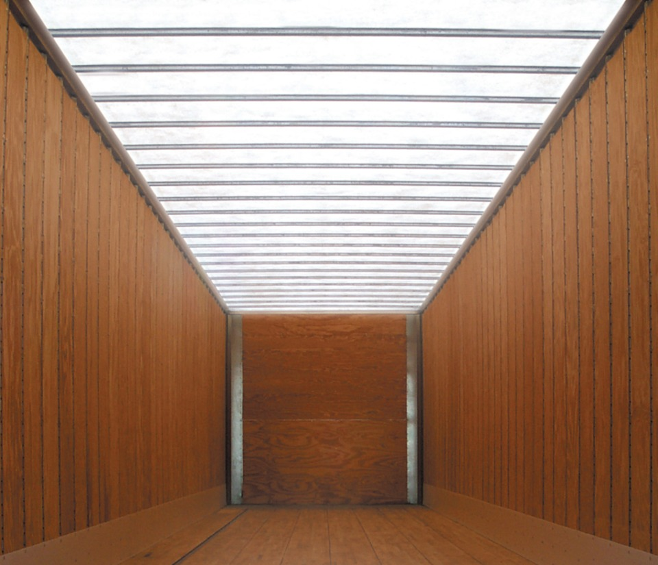 Glasteel Translucent Roof Panels In Trailers And Trailer