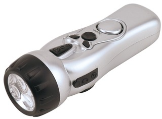 Kbc Tools Inc Lgx Wind Up Led Flashlight In Safety
