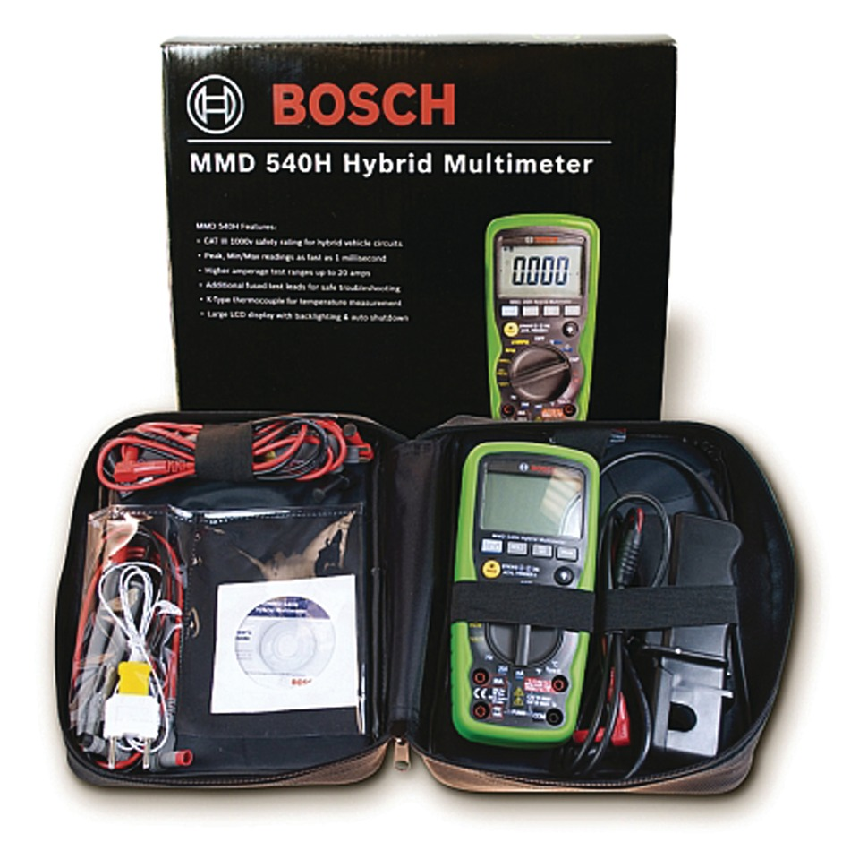 Bosch Diagnostics Mmd 540h Hybrid Multimeter In Multimeters Clamp Electronic Meters