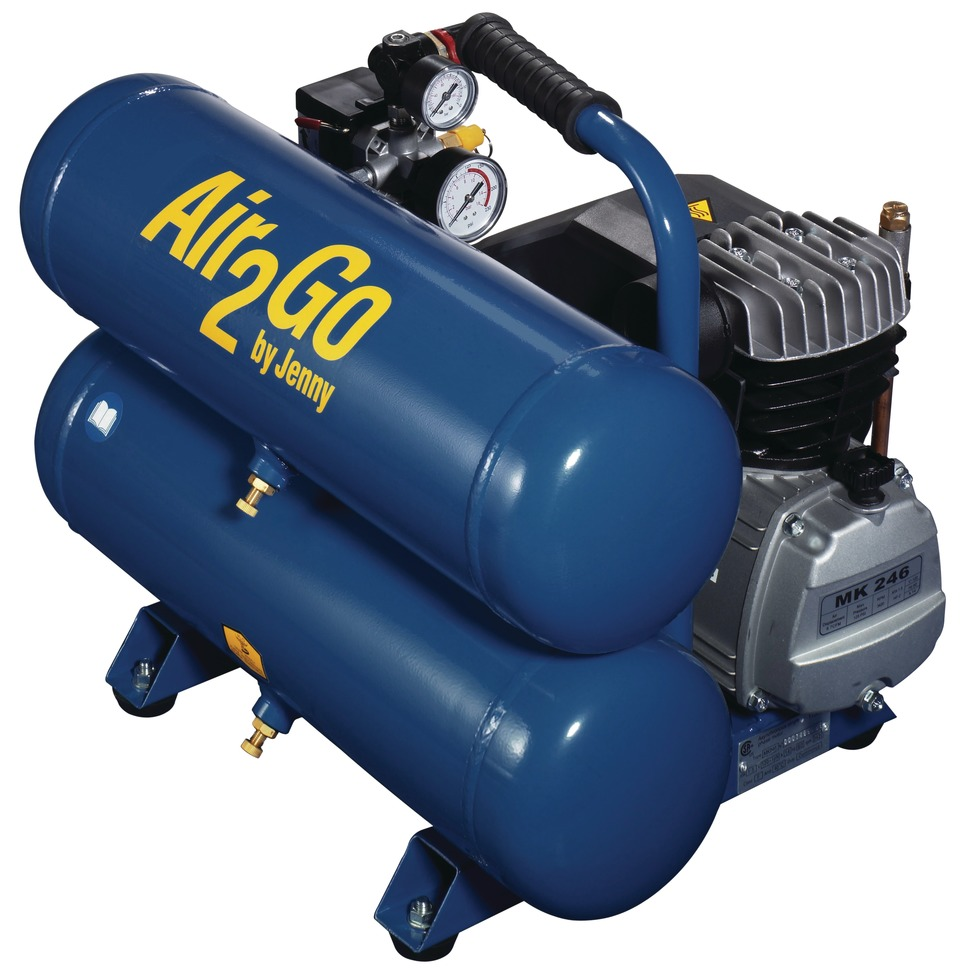 Jenny Products Inc Air2go Compressors In Shop Compressors