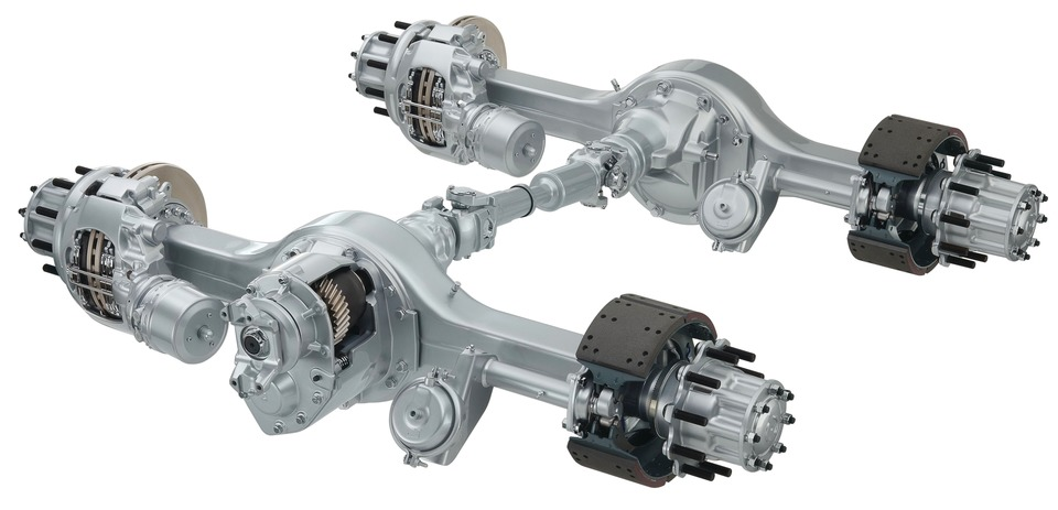 Arvinmeritor Meritor 14x Drive Axle In Axles Chassis Amp Frames