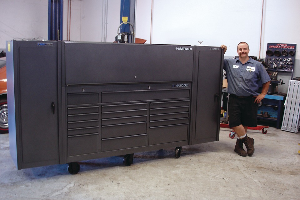 Mike Truman MatcoTools Big Time Boxes
