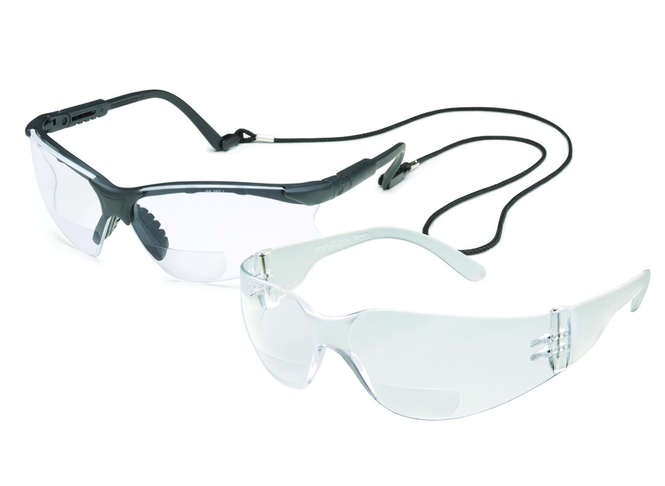 9051f861b350 To meet the needs of a growing aging workforce, Gateway Safety has added a  clear 3.0 diopter lens option to its two bifocal eye protection styles— Scorpion ...