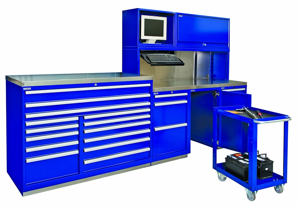 Lista International Corp. Automotive Workbench System in ...