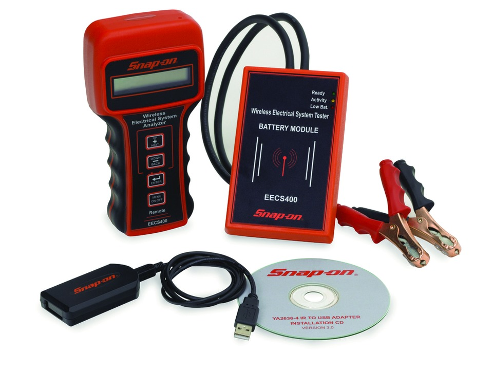 Snap On Inc Wireless Battery System Tester No EECS400 In Electrical Tools And Equipment