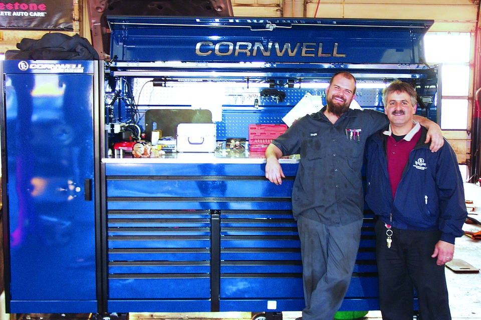 Franks Body Shop >> Frank Edwards Cornwell toolbox