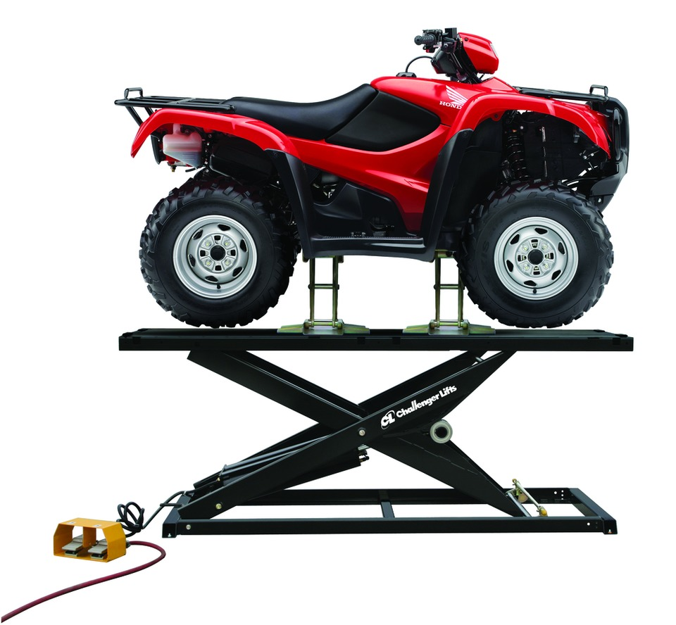 Brilliant Challenger Lifts Cl1750A Motorcycle Atv Utv Lift In Lifts Home Interior And Landscaping Ymoonbapapsignezvosmurscom