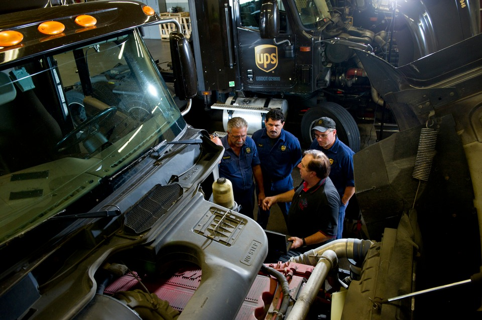 Technician Training And Recruitment At Ups