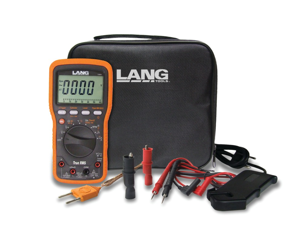 Electronic Measuring Devices For Pickups : Lang tools cat iv digital multimeter kit no in