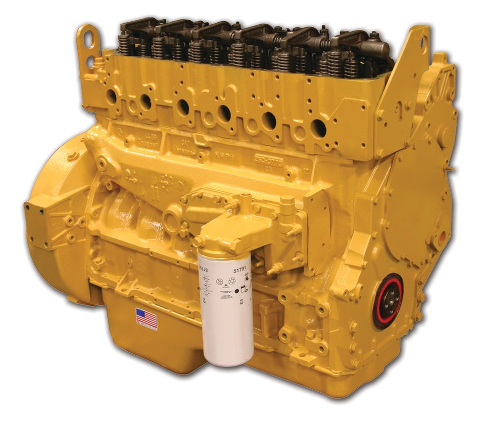 JASPER Engines & Transmissions Caterpillar C7 Common Rail Complete  Remanufactured Diesel Engine in Engine & Drivetrain