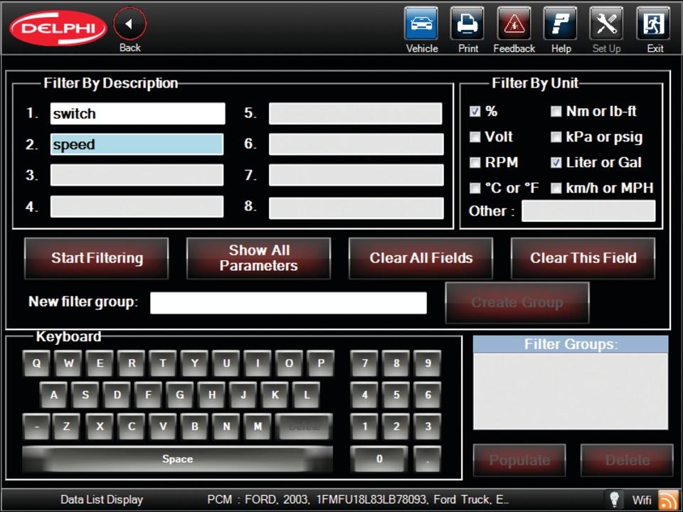 delphi automotive llp delphi diagnostics scan tool in diagnostic test equipment. Black Bedroom Furniture Sets. Home Design Ideas