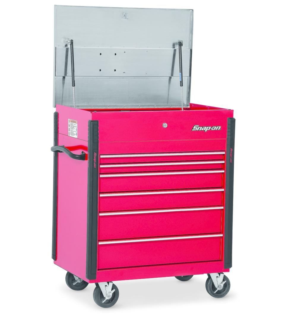 snap on inc heavy duty shop cart no krsc246 in tool storage. Black Bedroom Furniture Sets. Home Design Ideas