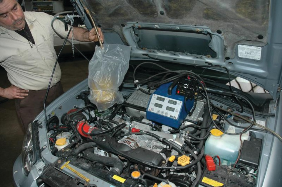 diagnosing engine overheating  uncommon cooling system