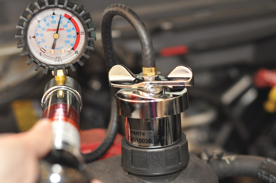 Diagnosing engine overheating and uncommon cooling system