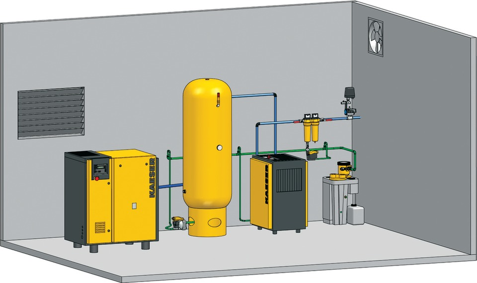 Air Compressor Room Design