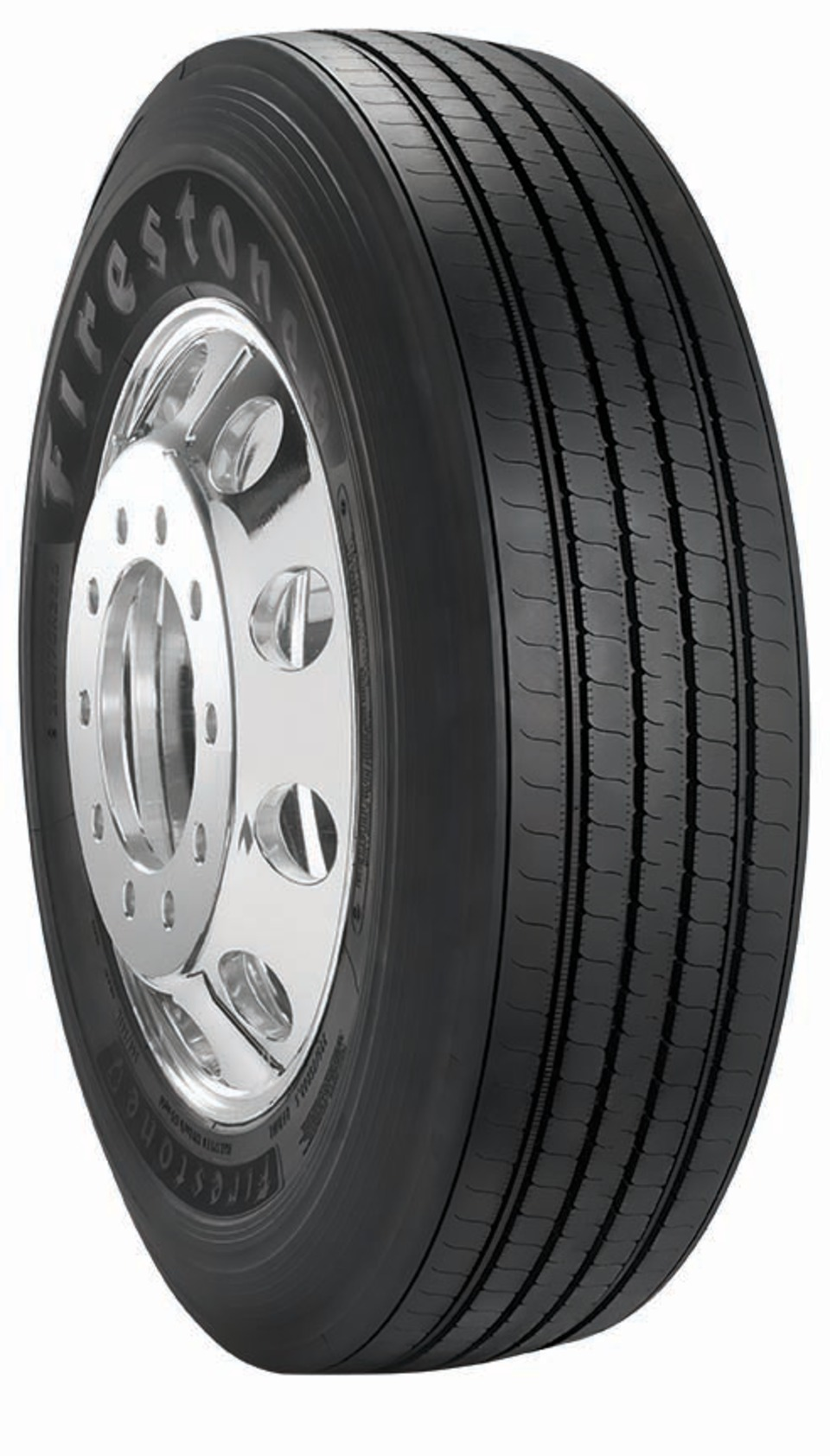 """Four Firestone-brand tires introduced as part of """"Those With Drive, Drive a  Firestone"""" campaign."""